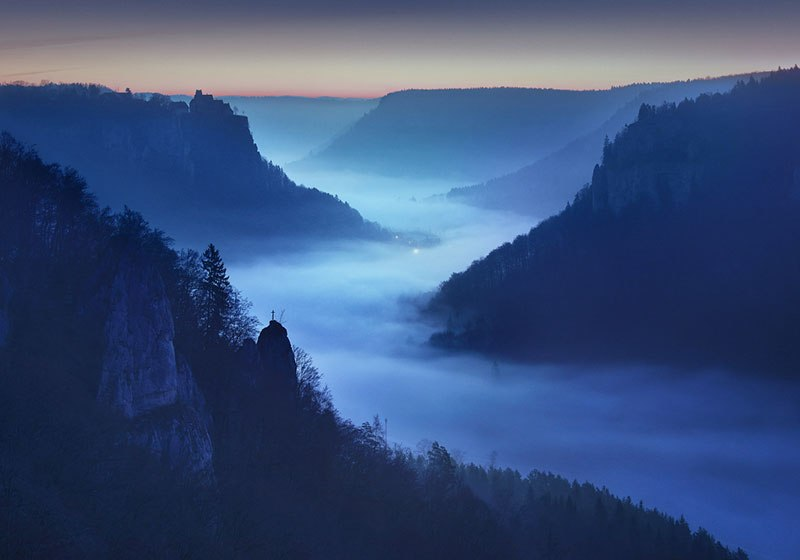 the blue border by kilian schonberger 6 The Blue Hour by Kilian Schoenberger (12 Photos)