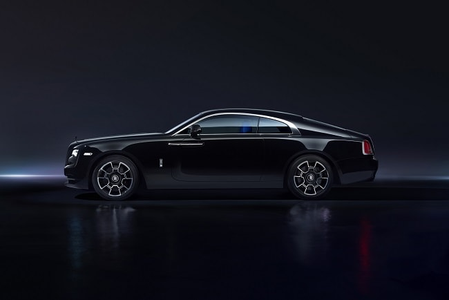 Introducing the new Rolls Royce Wraith Black Badge