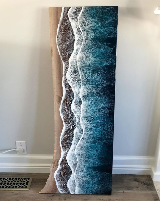 live edge ocean surface tables by rivka wilkins and jared davis 8 These Live Edge Ocean Shore Coffee Tables are Incredible (18 Pics)