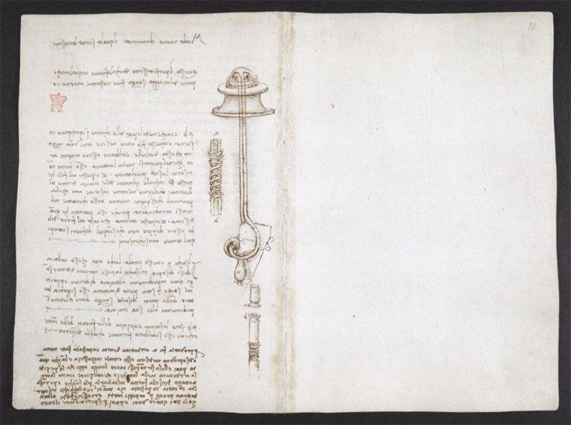 leonardo da vinci notebook 6 The British Library Has Fully Digitized 570 Pages of Leonardo da Vincis Visionary Notebooks