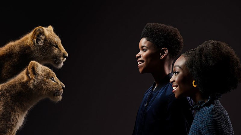 lion king cast and characters 8 New Promo Pics Show the Lion King Cast Meeting Their Animated Counterpart