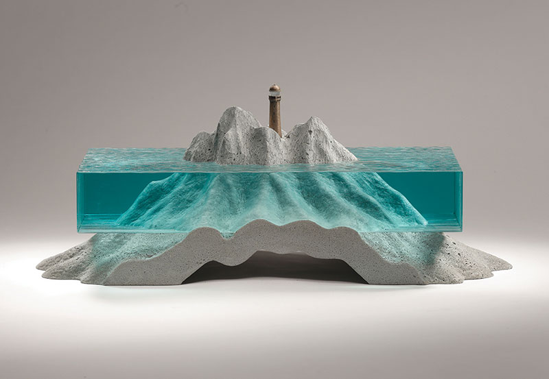 glass wave sculptures by ben young 6 Incredible Glass Wave Sculptures by Ben Young