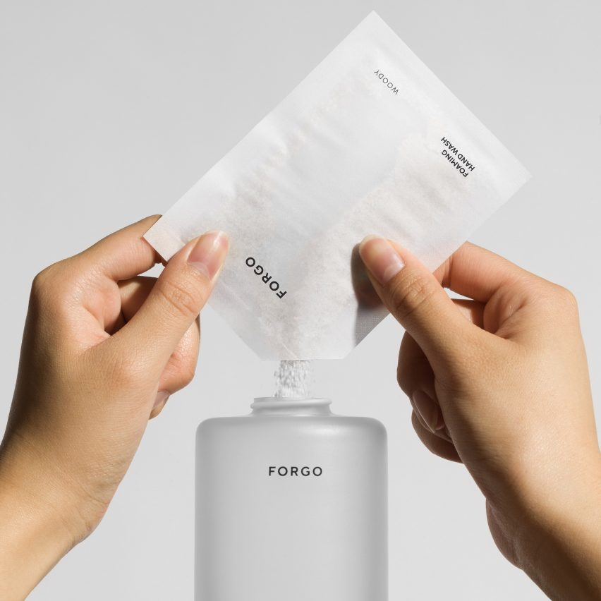 Form Us With Love cuts down on plastic with Forgo powder-to-liquid soap