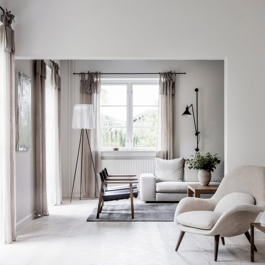 Danish Home Interior Design: Neutral Tones Used To Create Tranquil Family Home In