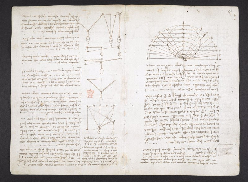 leonardo da vinci notebook 5 The British Library Has Fully Digitized 570 Pages of Leonardo da Vincis Visionary Notebooks
