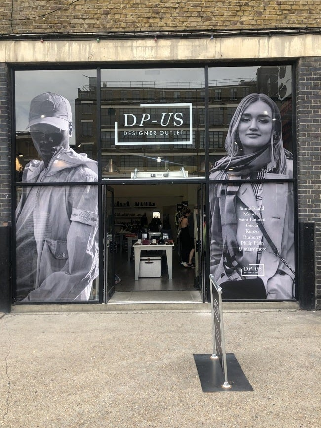DP-US Designer Outlet Shoreditch London