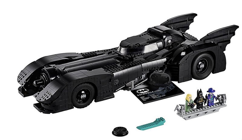 lego unveils 30th anniversary edition of tim burton 1989 batmobile 6 LEGO Unveils 30th Anniversary Edition of Tim Burtons 1989 Batmobile