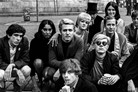 'Andy Warhol with Group at Bus Stop', New York, 19