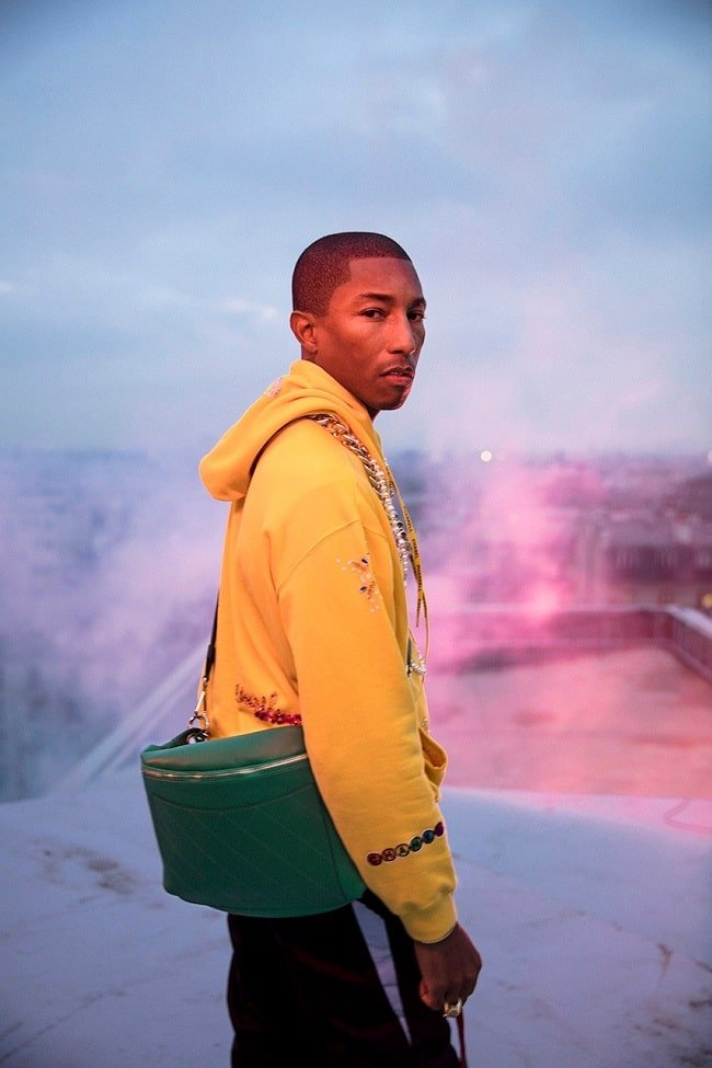 Pharrell Launches Capsule Collection with CHANEL