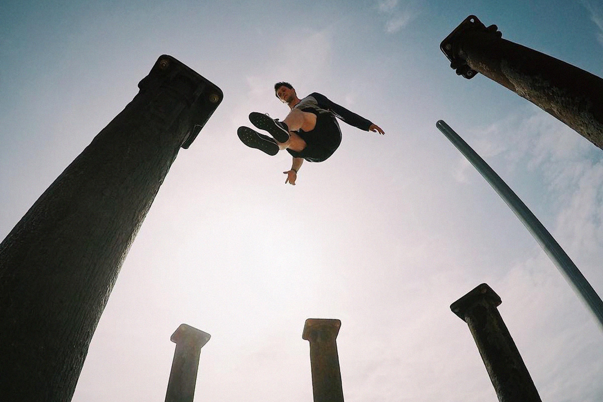 This Extreme Parkour Team Is Taking Streetwear To The