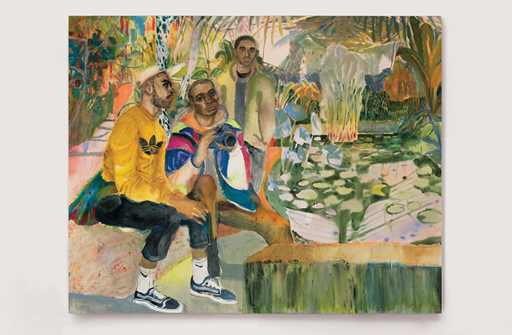 Rebecca-harper-guys-hanging-out-at-the-pond-art-itsnicethat-01