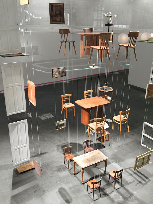 suspended deconstructions by damian ortega 4 Suspended Deconstructions by Damián Ortega