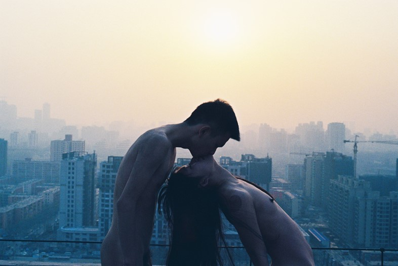 Ren Hang, Kissing Roof, 2012. Courtesy Stieglitz19