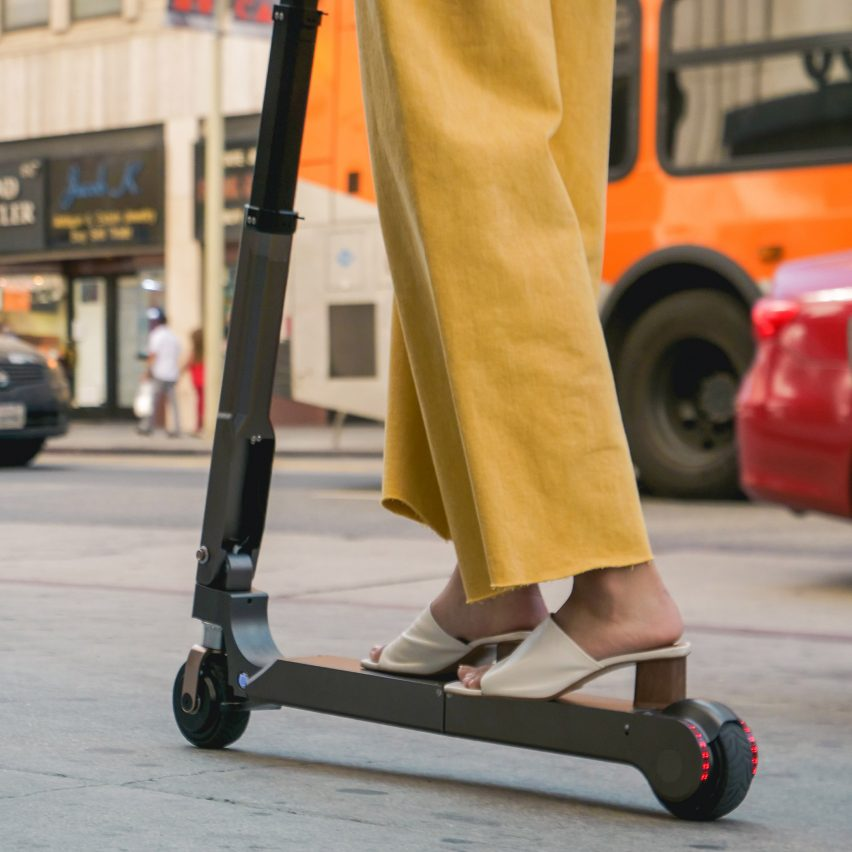 The new foldable, electric Hyundai scooter