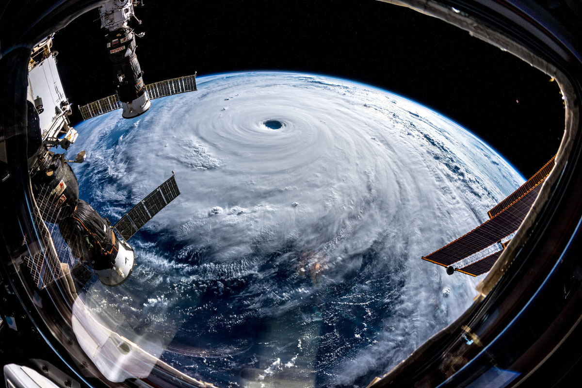 typhoon trami from space by alexander gerst 3 Alexander Gerst Captured Some Incredible Shots of Typhoon Trami from Space